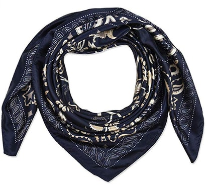 Corciova Large Women's Satin Square Scarf