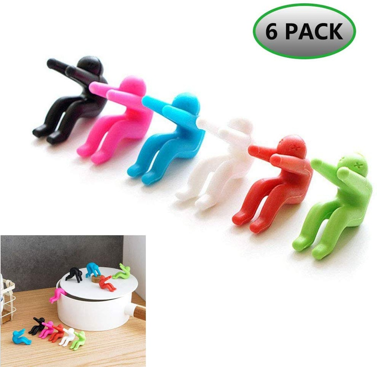 KITCHEN TOOLS Lid Lifters (6-Pack)