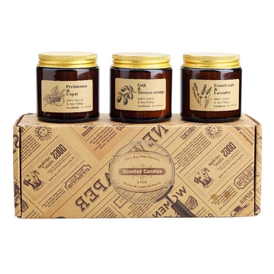 TOFU Scented Candle Set (3-Pack)