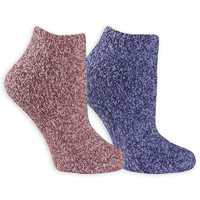 Dr. Scholl's Soothing Spa Lavender + Vitamin E Socks (2-Pack)