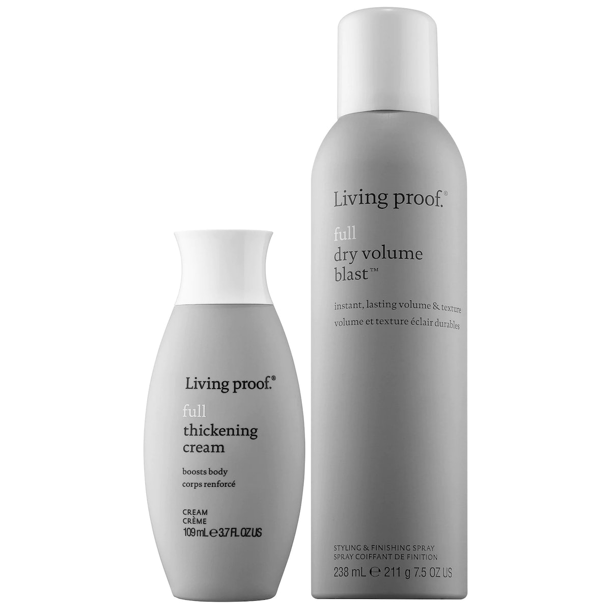 Living Proof Bring On Big Hair Volumizing Styling Products Value Set