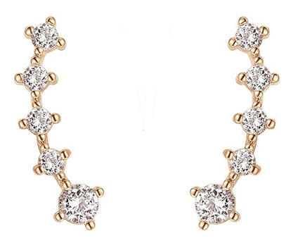 PAVOI CZ Climber Earrings