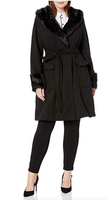 City Chic Women's Apparel Women's Plus Size Coat
