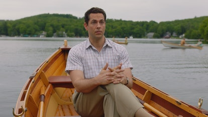 Zachary Levi plays Benjamin in The Marvelous Mrs. Maisel.