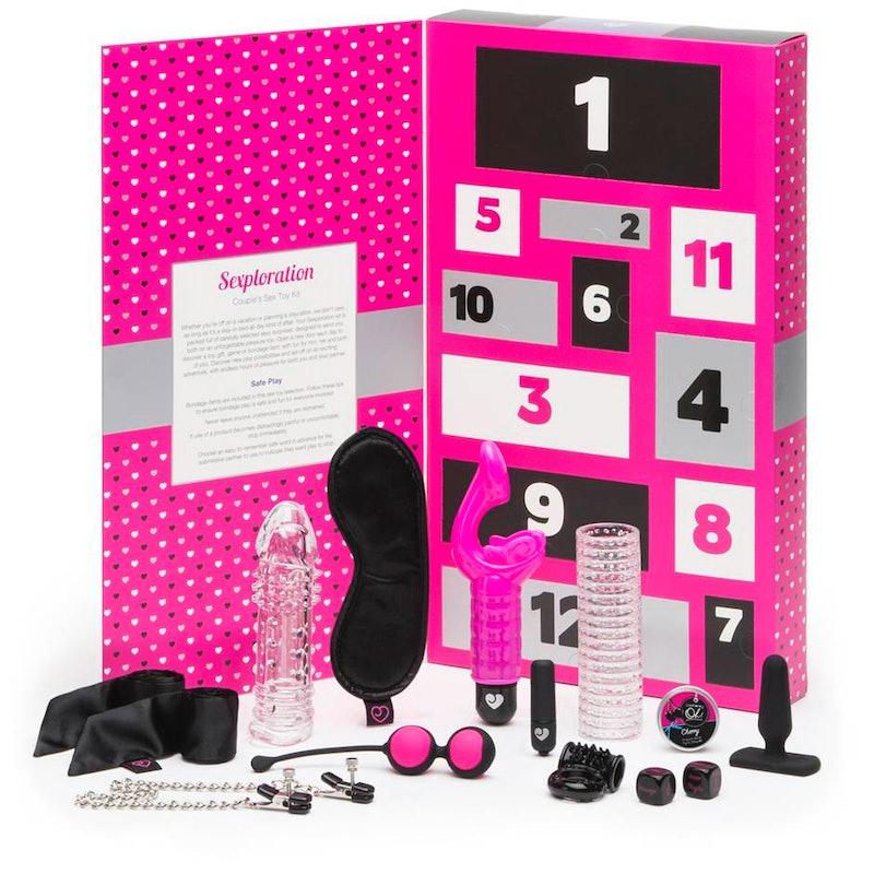 Photo of Lovehoney Sexploration Mega Couple's Sex Toy Kit for holiday 2019 advent calendars.