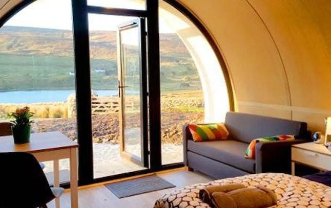 This Irish Hobbit-inspired home has been named the best getaway in Ireland.