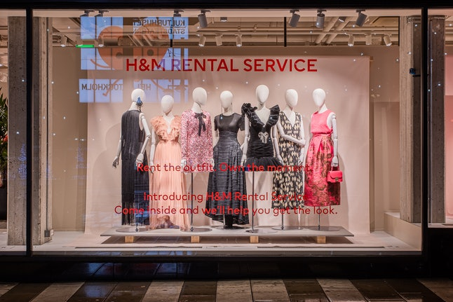 H&M's rental service trial could come to the UK in 2020