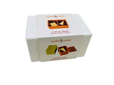 Capabunga Cheese Vault Storage Box