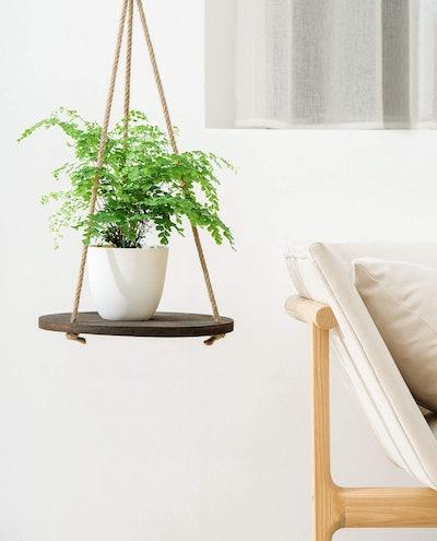 Dahey Hanging Plant Shelf