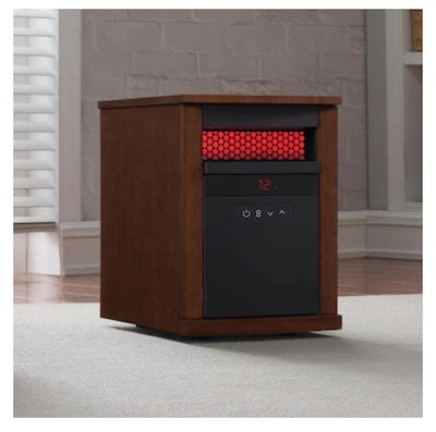 Duraflame 1500-Watt Infrared Quartz Cabinet Electric Space Heater