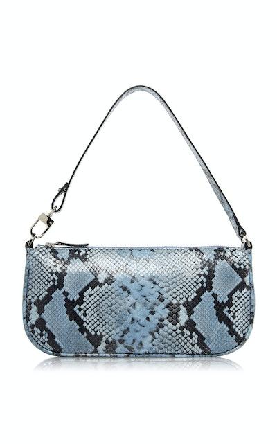 Rachel Snake-Effect Leather Bag