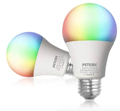 Peteme Smart Light Bulb (2-Pack)