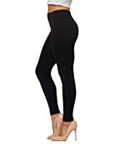 LUOYANXI High Waisted Fleece-Lined Leggings