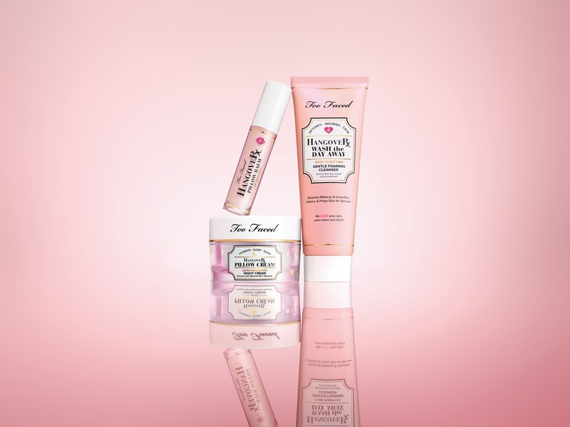 Too Faced's Hangover Skincare features real stardust.
