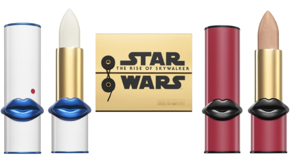 Pat McGrath x Star Wars Makeup collection lipsticks and palettes