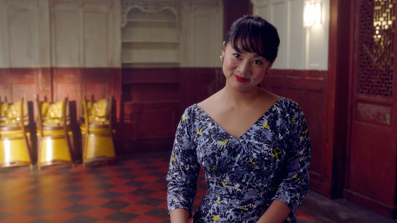 Mei in Marveous Mrs. Maisel is probably not based on a real person.
