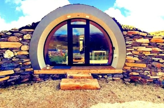 """The """"CroPod"""" Airbnb is tucked away in the Irish countryside."""