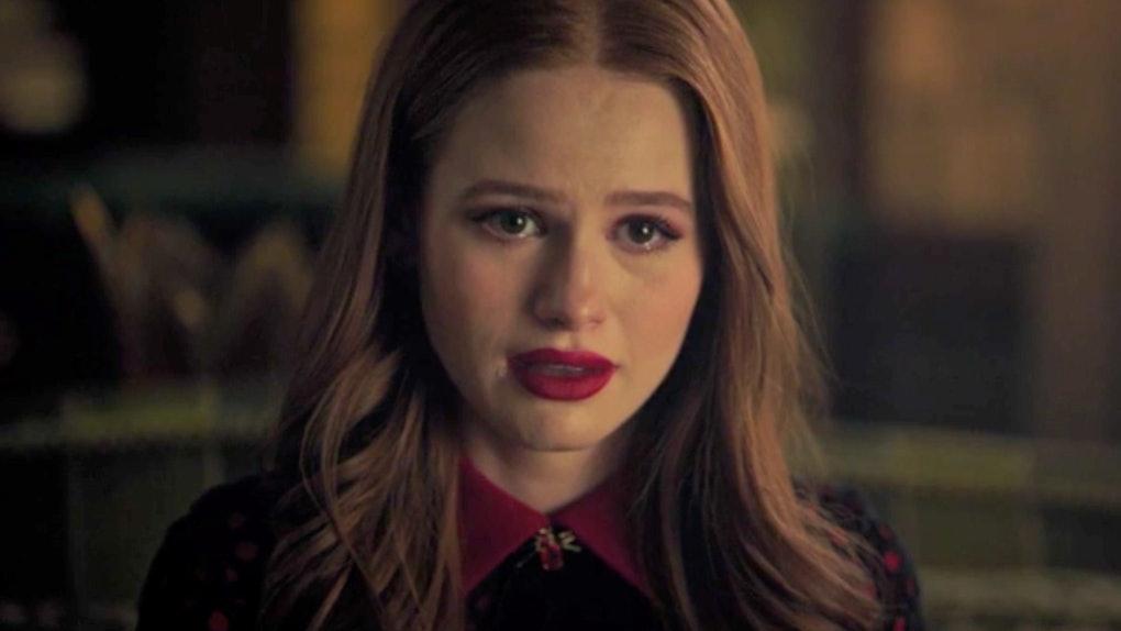 Cheryl takes a chimera test on 'Riverdale.'