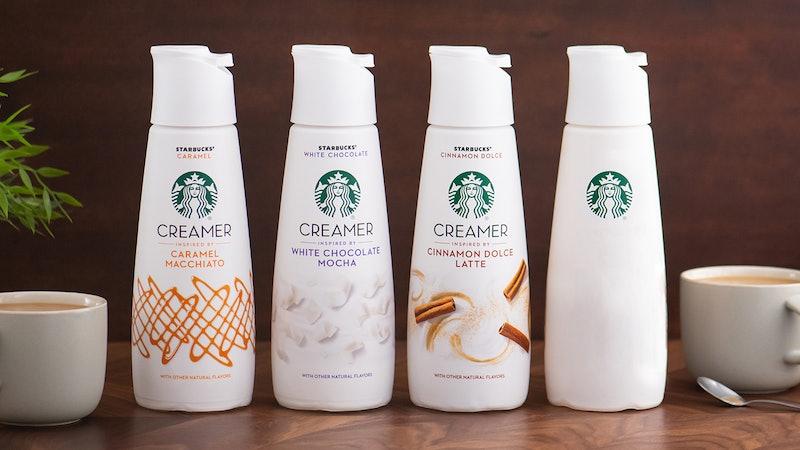 Starbucks has a new mystery flavor creamer.