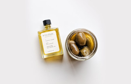Hemp Infused Olive Oil