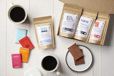 Coffee + Chocolate Tasting Box
