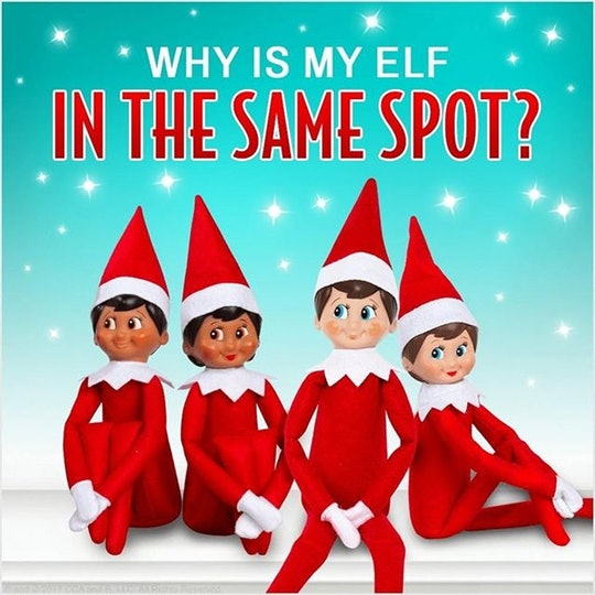 Why Is My Elf in the Same Spot?