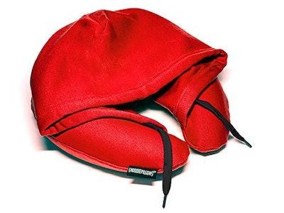 HoodiePillow Inflatable Neck Pillow