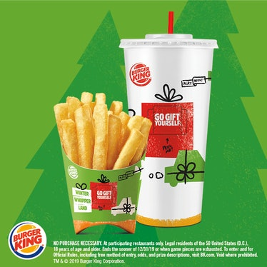 Burger King's Winter Whopperland Instant Win Game includes a $35,000 grand prize.