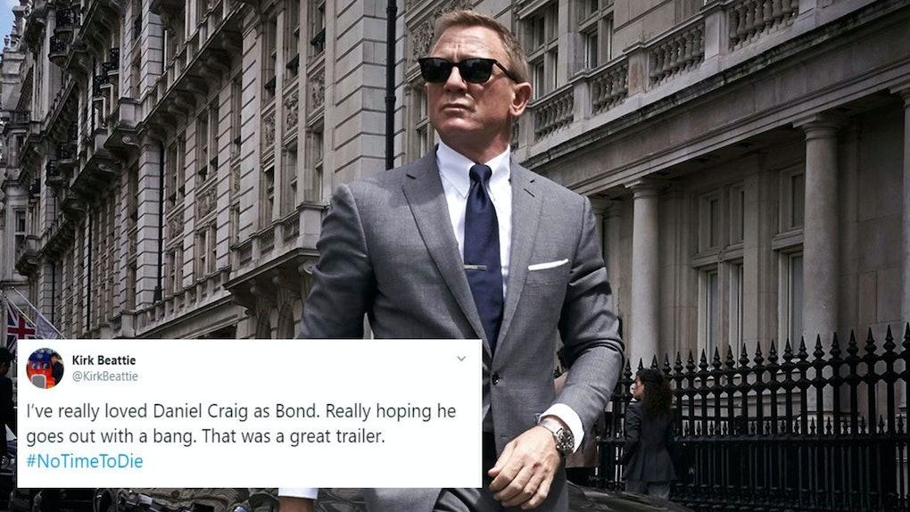James Bond tweet
