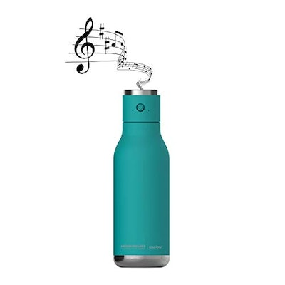 Asobu Insulated Stainless Steel Water Bottle with a Speaker