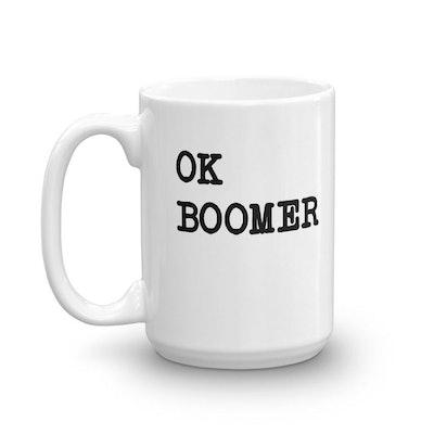 OK Boomer Mug