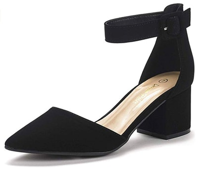 DREAM PAIRS Women's Low Heel Pumps