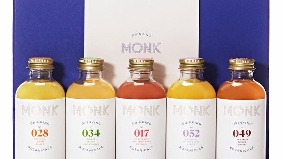 Monk CBD Drinking Botanicals in 5 flavors