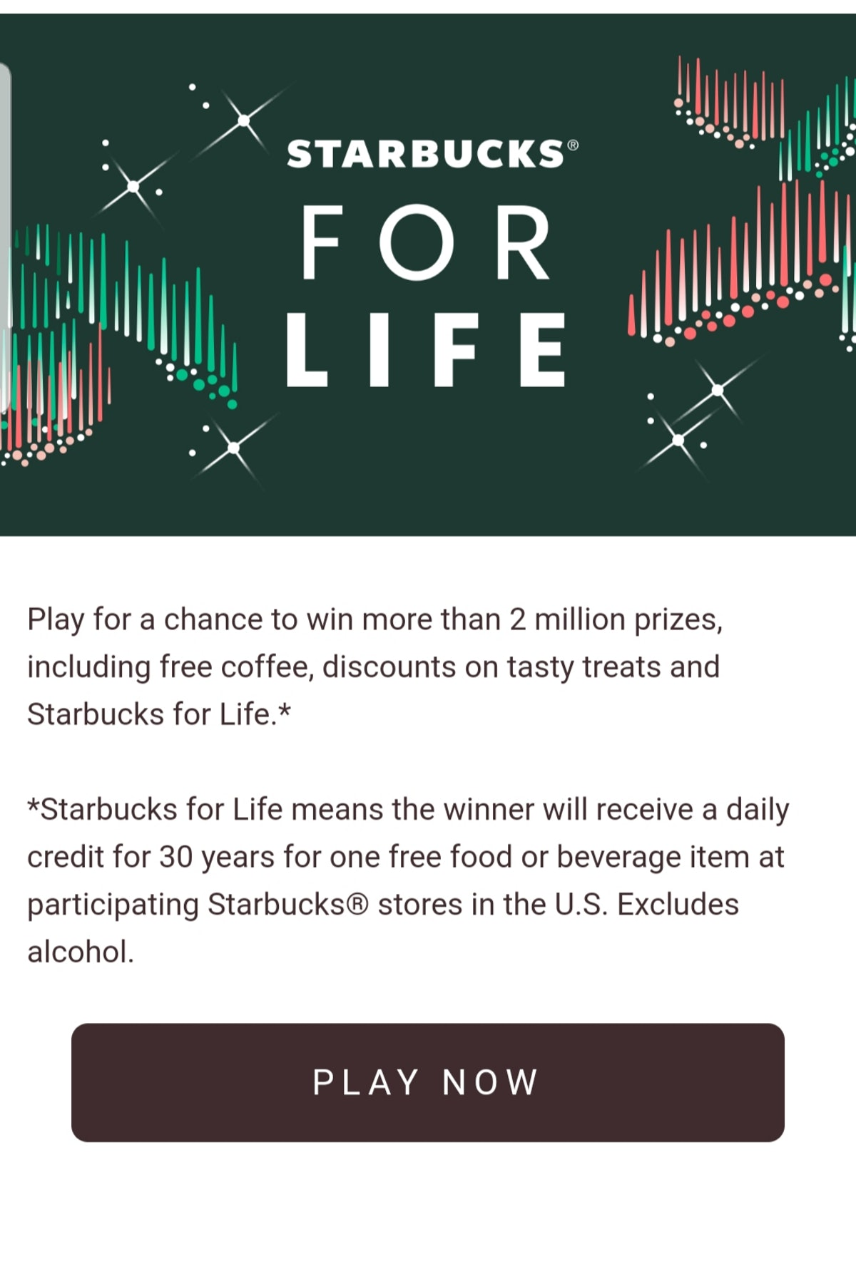 The Starbucks For Life Game Is Back For 2019 and you won't want to miss out on the prizes this year.