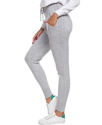 DAIMIDY Women's Cashmere Joggers