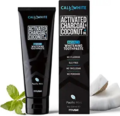 Cali White Activated Charcoal Toothpaste