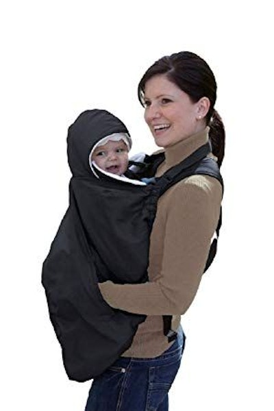 Jolly Jumper Snuggle Cover for Soft Baby Carriers, Black