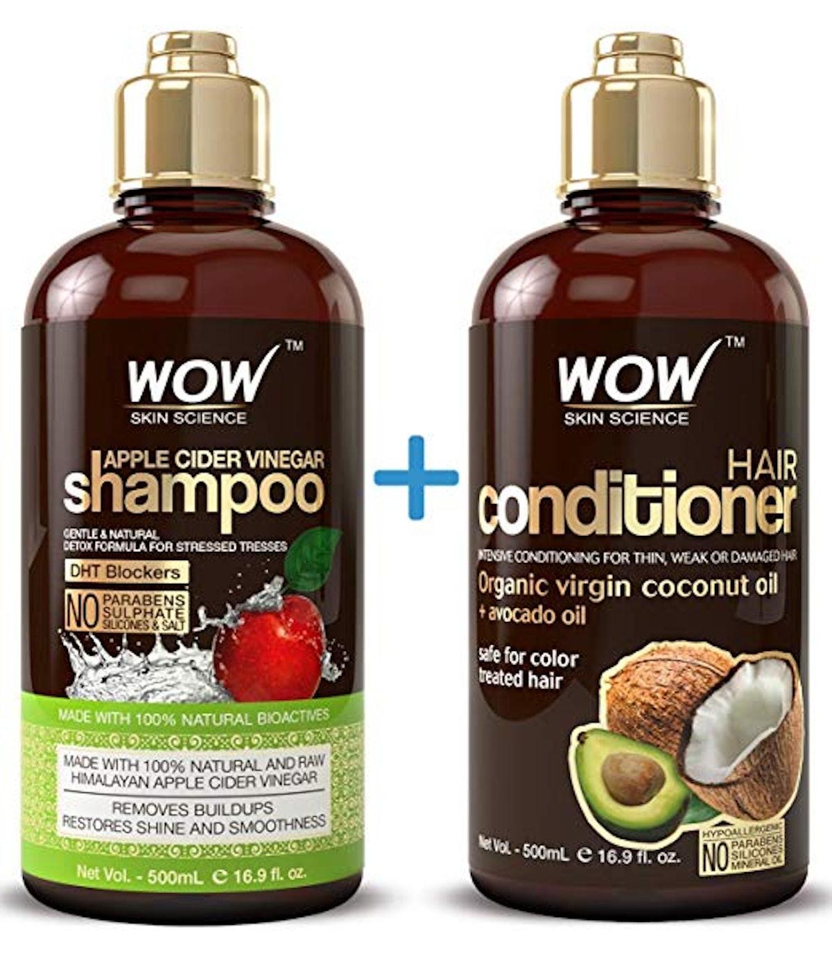 Buywow Apple Cider Vinegar Shampoo & Hair Conditioner Set