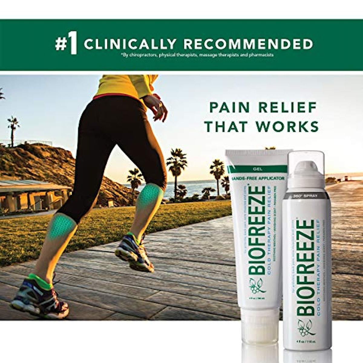 Biofreeze Pain Relief Spray (2-Pack)