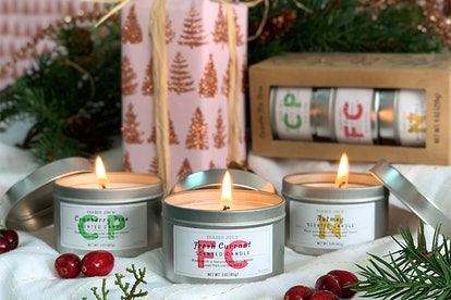 Trader Joe's new candle tin trio will make your house smell like Christmas.