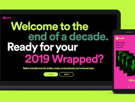 Spotify's released their 2019 Wrapped and Decade Wrapped playlists.