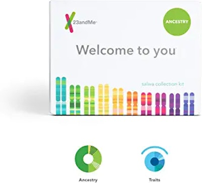23andMe Ancestry + Traits Service: Personal Genetic DNA Test