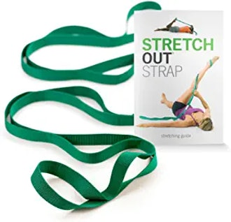 OPTP The Original Stretch Out Strap with Exercise Book