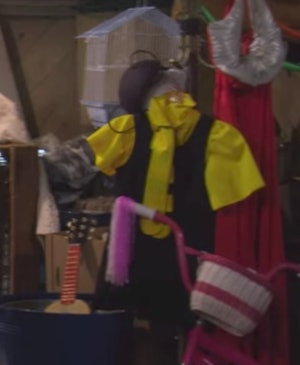 A Honeybee costume on Fuller House