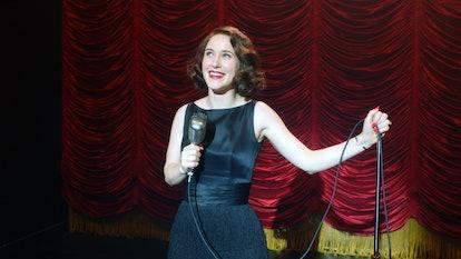 Midge (Rachel Brosnahan) goes on tour with Shy Baldwin in 'The Marvelous Mrs. Maisel' Season 3.
