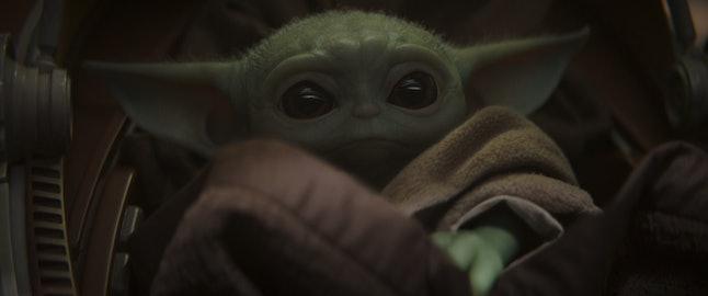 Baby Yoda in The Mandalorian
