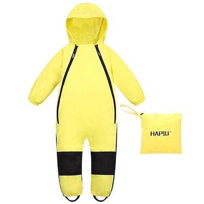 HAPIU Kids Toddler Rain Suit Muddy Buddy Waterproof Coverall,Original