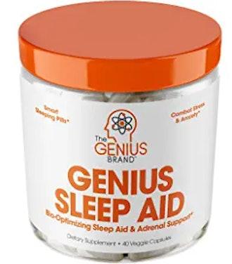 Genius Sleep AID – Smart Sleeping Pills & Adrenal Fatigue Supplement