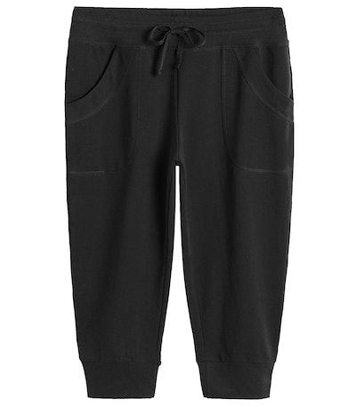 Weintee Women's Capri Jogger Jersey Sweatpants