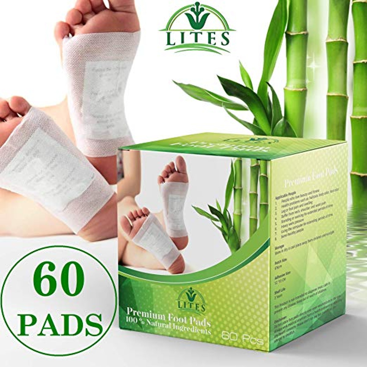 LITES Foot Pads - (60pcs)